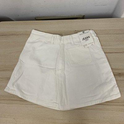 氣質修身休閒時尚A字裙半身裙牛仔短裙(M號/777-8908)