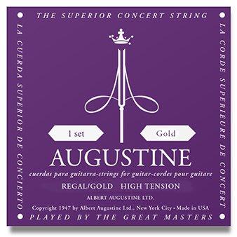 【華邑樂器36616】AUGUSTINE 古典吉他弦-紫金弦 (1組6條 Regal Gold 尼龍弦 琴弦 美製)