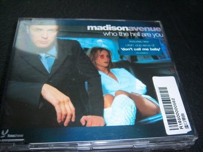 CD-MADISON AVENUE/WHO THE HELL ARE YOU