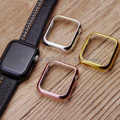 可開發票蘋果 apple watch5 手錶保護殼 iwatch4代 保護套 電鍍pc邊框 防摔抗震 保護殼五金 零售 雜貨