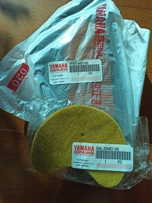 買一送一 YAMAHA 山葉 GTR GTR aero RAY 125 空濾 進氣空濾 空氣濾心