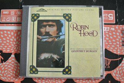 原聲帶 CD ~ ROBIN HOOD ~ 1991 SILVA SCREEN