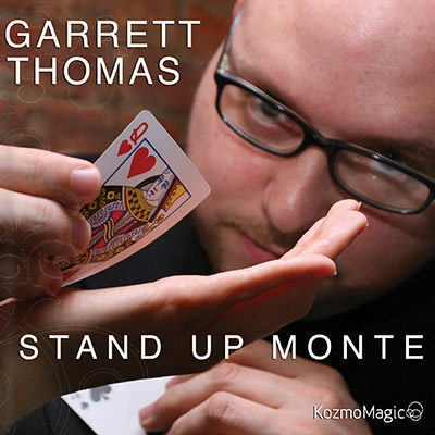 【意凡魔術小舖】 美國原廠 ~ Stand Up Monte by Garrett Thomas ~ G.T. 賭徒三張