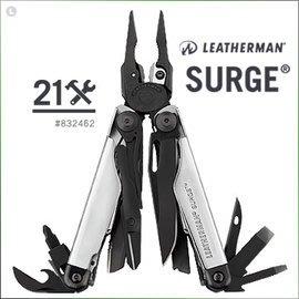 【ARMYGO】LEATHERMAN SURGE 工具鉗-黑銀限定款 #832462