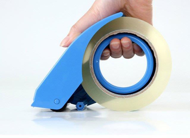 888利是鋪-802封箱器膠布透明膠帶切割器大號物流打包器膠帶機切割器6cm#切割器