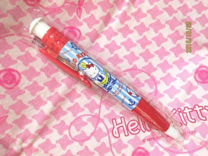 sanrio2008年草莓新聞系列~~Hello Kitty 黑色原子筆沒水只賣筆桿~~