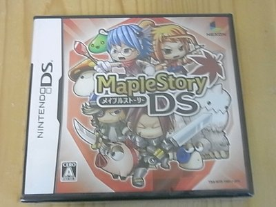 【小蕙生活館】NDS ~ MAPLE STORY 楓之谷 (純日版) 全新品