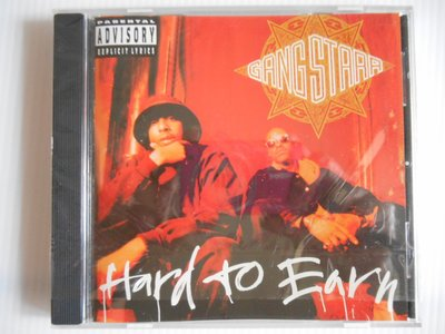 Gang Starr - Hard to Earn 進口美版