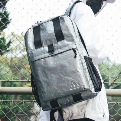 2018新款雙肩包男中大學生韓版運動書包女輕便防水牛津布旅游背包