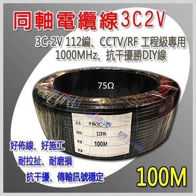 【目擊搜証者】同軸3C2V 電纜線112編勝3CFB不含1TB 2TB 4TB硬諜32G 64G記憶卡AHD工程寶