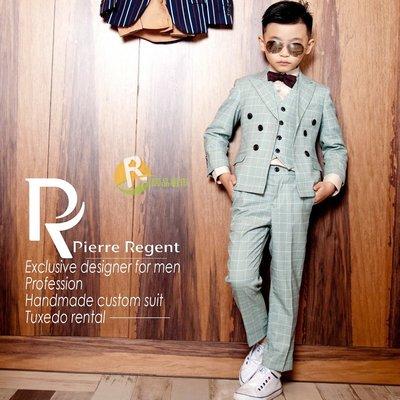 【居品租市】 專業出租平台 【出租】Pierre Regent 花童韓版綠格西服