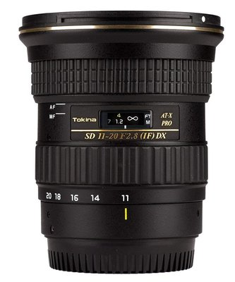 【高雄四海】Tokina 11-20mm F2.8 DX for Canon 全新正成公司貨.保固兩年.APS-C超廣角
