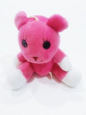 滿千或滿件免運 知名粉紅MOMO熊超可愛車掛吊飾玩偶卡通 只有一隻