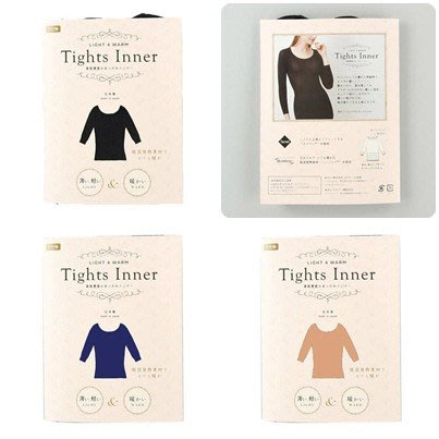【東京速購】Tights Inner 輕薄 吸濕 排汗 發熱衣 8分袖 內襯衣 保暖衣 衛生衣