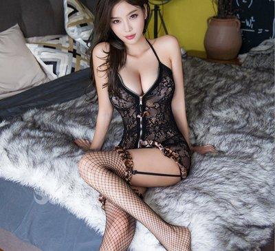 歡樂今夜 A104 現貨不必等 天使衣裳正品 激情豹紋 情趣內衣 網衣 貓裝 連身絲襪