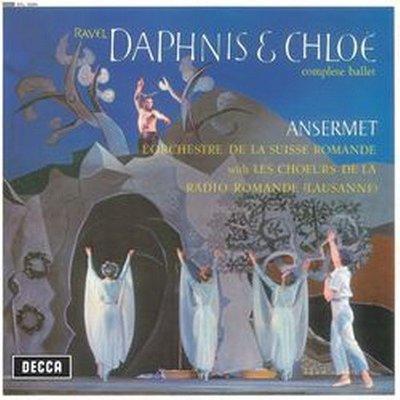 【黑膠唱片LP】拉威爾:達夫尼與克羅伊RAVEL:DAPHNIS&CHLOE/安塞美Ansermet---4788556