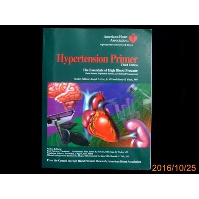 【9九 書坊】Hypertension Primer 3e│American Heart Association