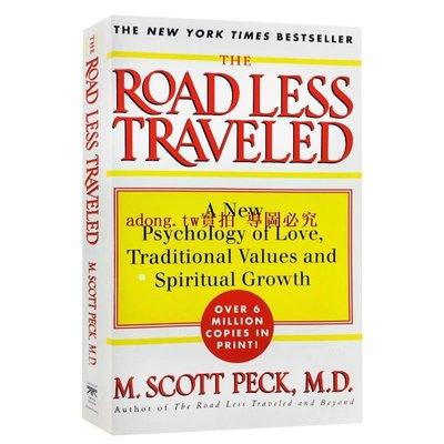 現貨新品\\n 少有人走的路 The Road Less Traveled 英文原版社會心理學書 心智成