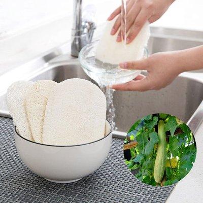 ❃彩虹小舖❃廚房專用絲瓜清潔刷 鍋具 碗碟 洗碗 衛生 乾淨 水槽 刷子 洗鍋 不沾油【H34-1】