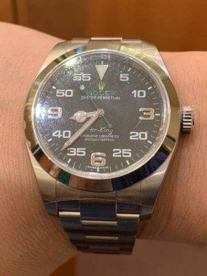 【已交流】勞力士 116900 ROLEX Air-King 空中霸王
