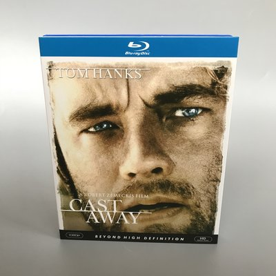 湯姆·漢克斯 荒島余生 Cast Away 藍光BD 高清電影 收藏版碟片