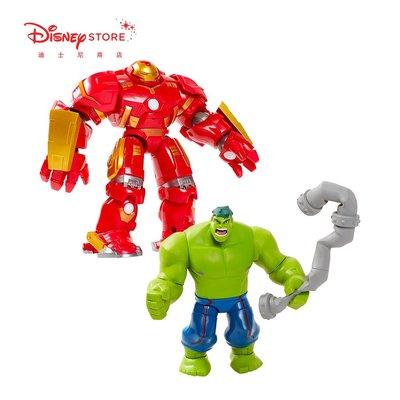 聚吉小屋 # 漫威復仇者聯盟鋼鐵俠綠巨人浩克關節可動公仔手辦