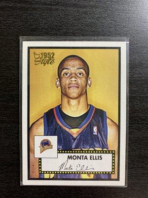 Monta Ellis Topps 1952 籃球卡