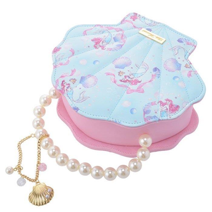 日本 DISNEY STORE ARIEL 美人魚 首飾盒 飾物盒 附手鍊 **購自日本**