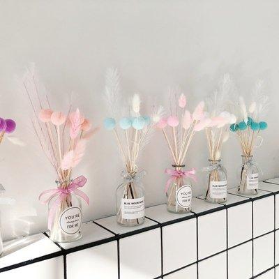 千禧禧居~公主擺件INS網紅少女心房間裝飾品干花瓶創意禮物出租屋改造用品