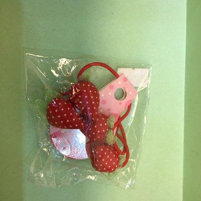 可愛草莓兒童髮飾(日本帶回來)