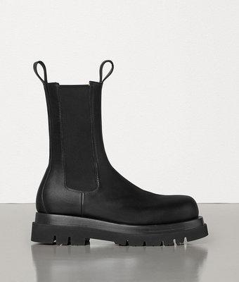 BOTTEGA VENETA LUG BOOTS 高筒 黑色 靴子