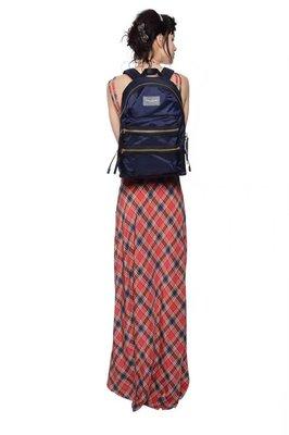 ╭☆包媽子店☆ Marc Jacobs Nylon Biker Backpack 深藍色尼龍布雙肩包 大/小號