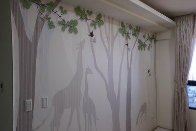 雷射印刷壁布壁畫!客製化任何您想要的圖案風格!專屬您的壁布壁畫!!窗簾工廠小姚!!
