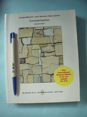【姜軍府】《COMPENSATION 第11版》2014年George Milkovich / Mc Graw Hill