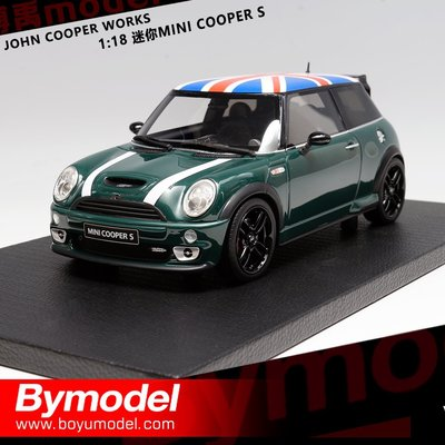 汽車模型 JOHN COOPER WORKS 1:18 迷你MINI COOPER S 樹脂汽車模型