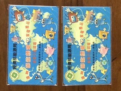經濟部能源局-購買節能標章家電產品 特製悠遊卡(2張)