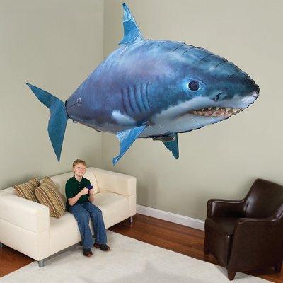 🔆SuperPlayer🔆遙控飛魚空中鯊魚-鯊魚/小丑魚 氦氣填充玩具 婚禮/慶生派對佈置airswimmer