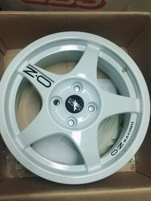 【優質輪胎】OZ 16吋 4孔108全新鋁圈_義大利製(FIESTA FOCUS PEUGEOT 雪鐵龍SAXO)三重區