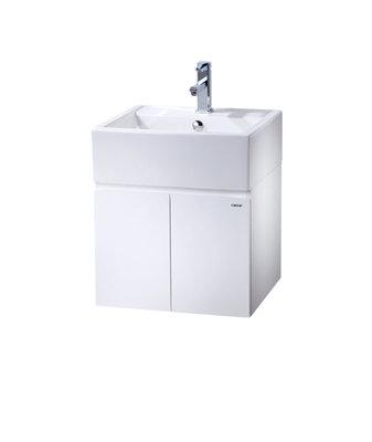 DIY水電材料 凱撒牌 LF5236A立體盆浴櫃組/單孔混合龍頭臉盆/ 面盆(不含龍頭)