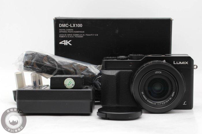 【高雄青蘋果3C】Pnasonic Lumix DMC-LX100 1280萬 4K錄影 支援WIFI  #52016