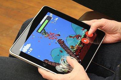 Ten One Design iPad 專用吸盤式 搖桿 iPhone 不插電的 Fling ipad 遊戲