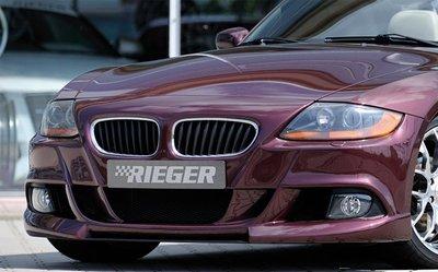 【樂駒】RIEGER BMW Z4 E85 front bumper 前保桿 外觀 烤漆 外觀 套件