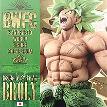 行版全新Banpresto 景品 Dragonball BWFC 造形天下一武道会 2 SPECIAL BROLY 龍珠超 劇場版 超級撒亞人 布洛尼