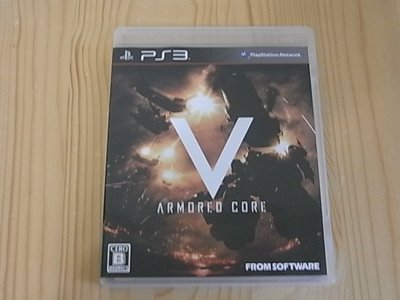 【小蕙館】PS3~ ARMORED CORE V 機戰傭兵5 / 機戰傭兵V (純日版)