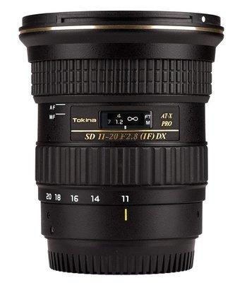 【高雄四海】Tokina 11-20mm F2.8 DX for Nikon 全新正成公司貨.保固兩年.APS-C超廣角