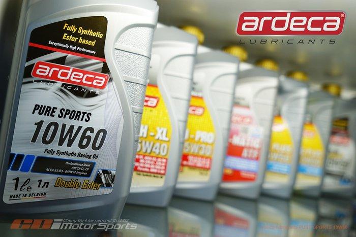 Ardeca Lubricants PURE SPORT 10W-60 全合成機油 酯類 高性能.競技適用 / 制動改