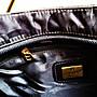 德國精品 ※Aigner※ 黑色Logo方包 單肩包 側背包 保證真品