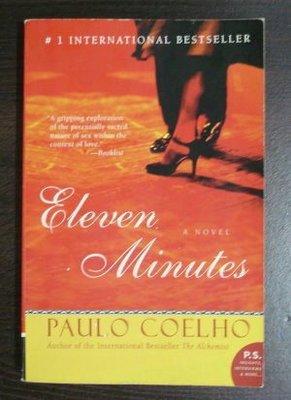 【保存超良好的原文書】 Eleven Minutes (愛的十一分鐘原著小說)