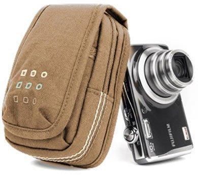 【eWhat億華】美國 Forest Green 輕量型小型相機包 ENA-101卡其色 F300 F200 S95