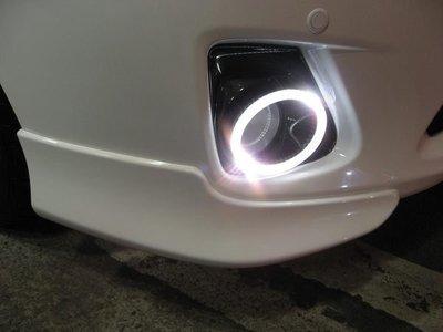 (柚子車舖) 豐田 2010-2013 ALTIS LED 光圈霧燈框 -可到府安裝 正廠車美仕套件 a